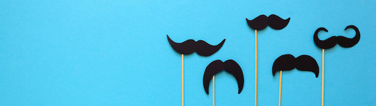 blue background with moustaches_crop